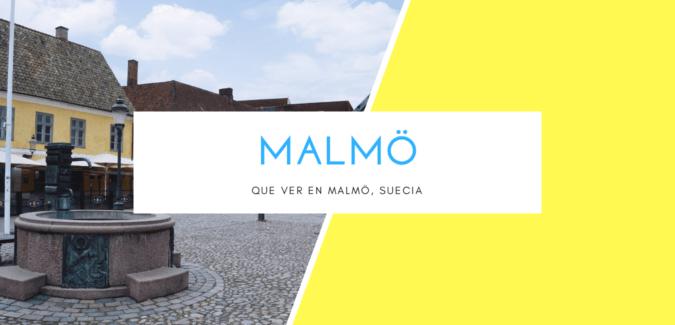QUE VER EN MALMO, SUECIA