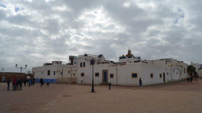 Que ver en Rabat. Parte superior de la Kasbah des Oudaias