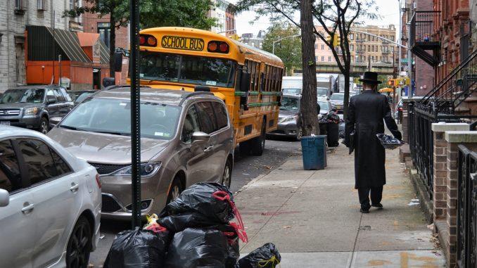 barrio de WILLIAMSBURG, NEW YORK. SCHOOL BUS EN WILLIAMSBURG. Preparemos una visita al barrio de Brooklyn llamado Williamsburg. Un autentico barrio del mundo, con sus gentes y su religión.