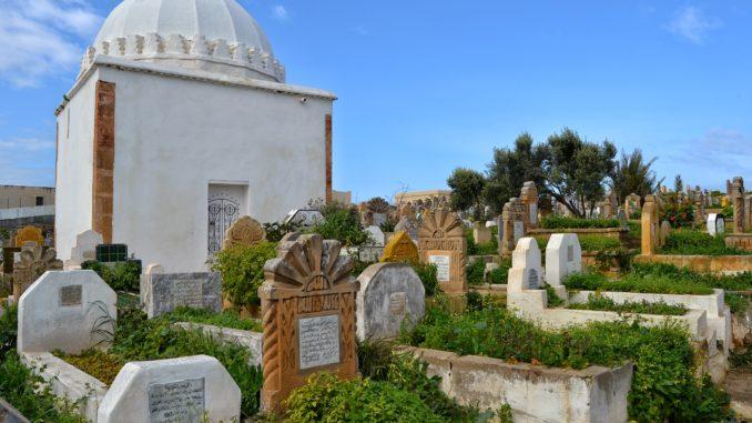 Que ver en Rabat. Cementerio de Rabat.