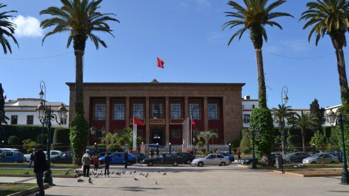 Que ver en Rabat. Avenida principal de Rabat