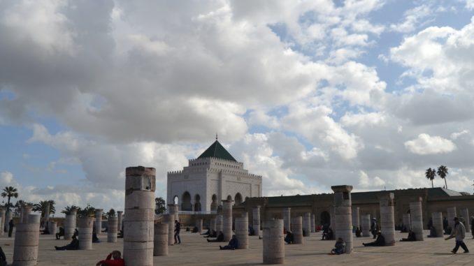 Que ver en Rabat. Maosuleo de Mohammed V