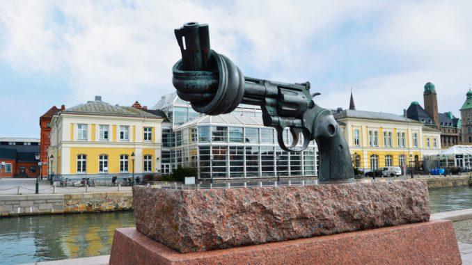 ¿que ver en Malmo? The Knotted Gun