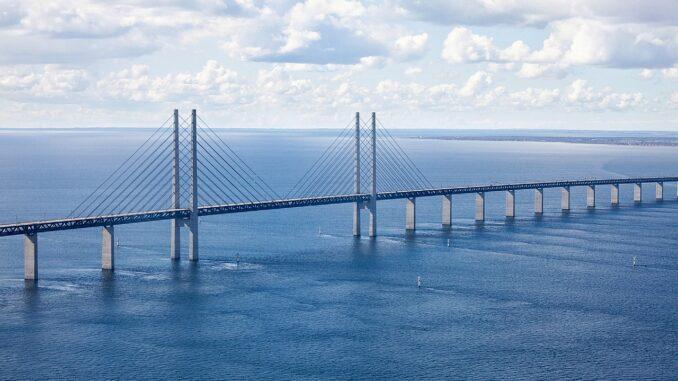 ¿que ver en Copenhague?Puente de Copenhague a Malmo. Llamado Oresund