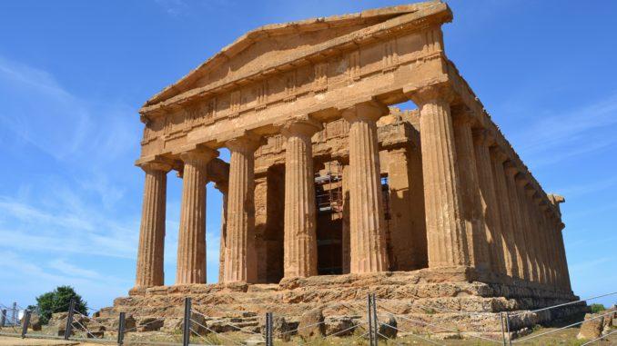 Valle de los Templos. Templo de Zeus.
