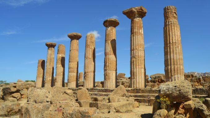 Valle de los Templos. Templo de Hercules